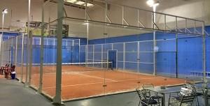 pista pádel indoor Villalba