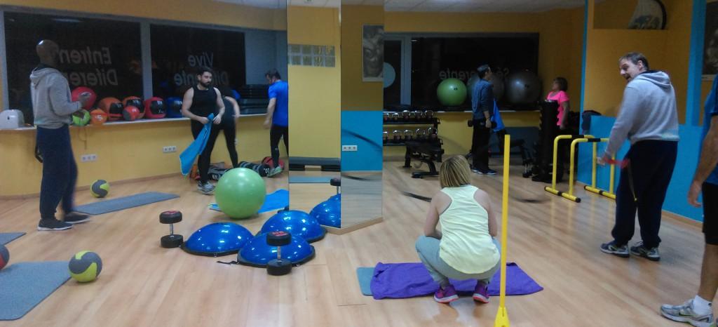 DIF - sala entrenamiento funcional