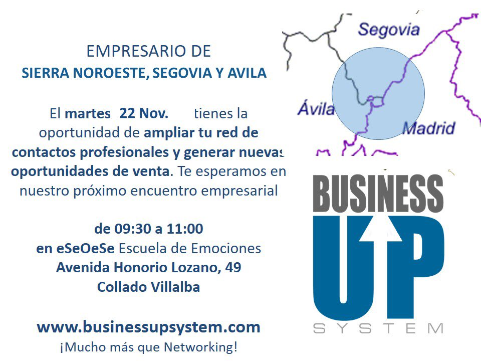 Business Up nviembre