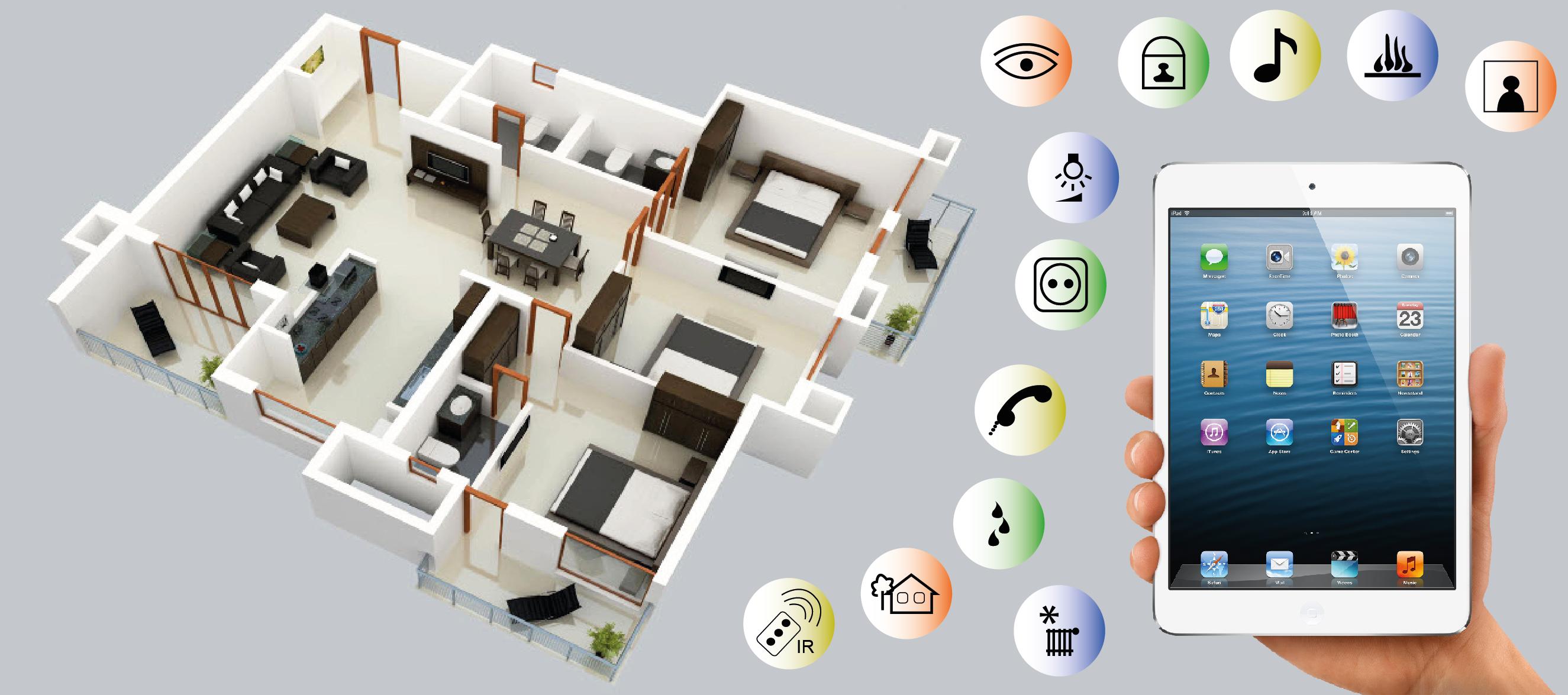 Dom tica una fuente de ahorro for Control de iluminacion domotica