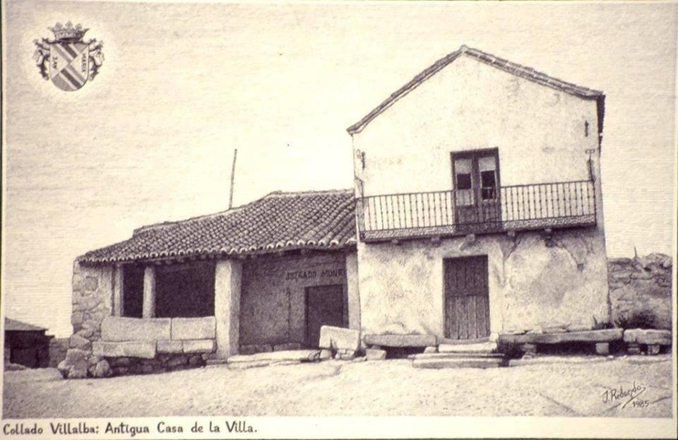 Escuela antigua Collado Villalba