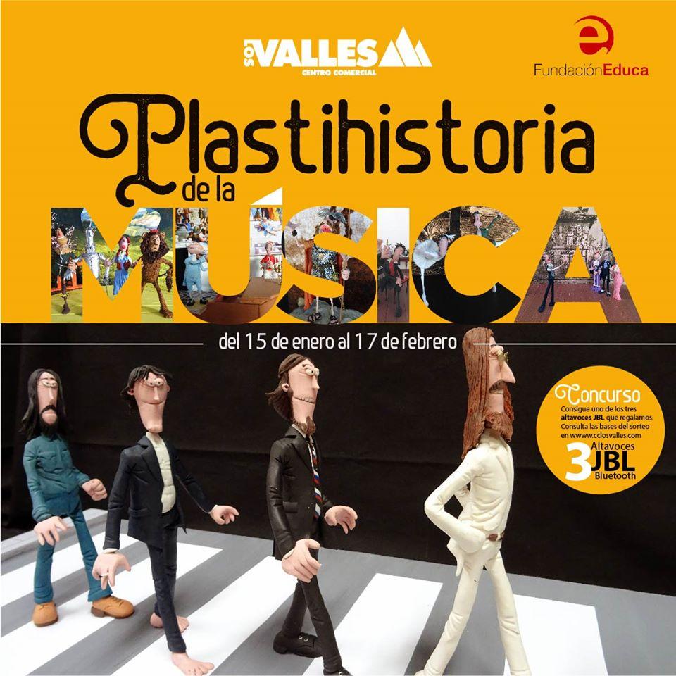Plastihistoria de la Música en el Cento Comercial Los Valles