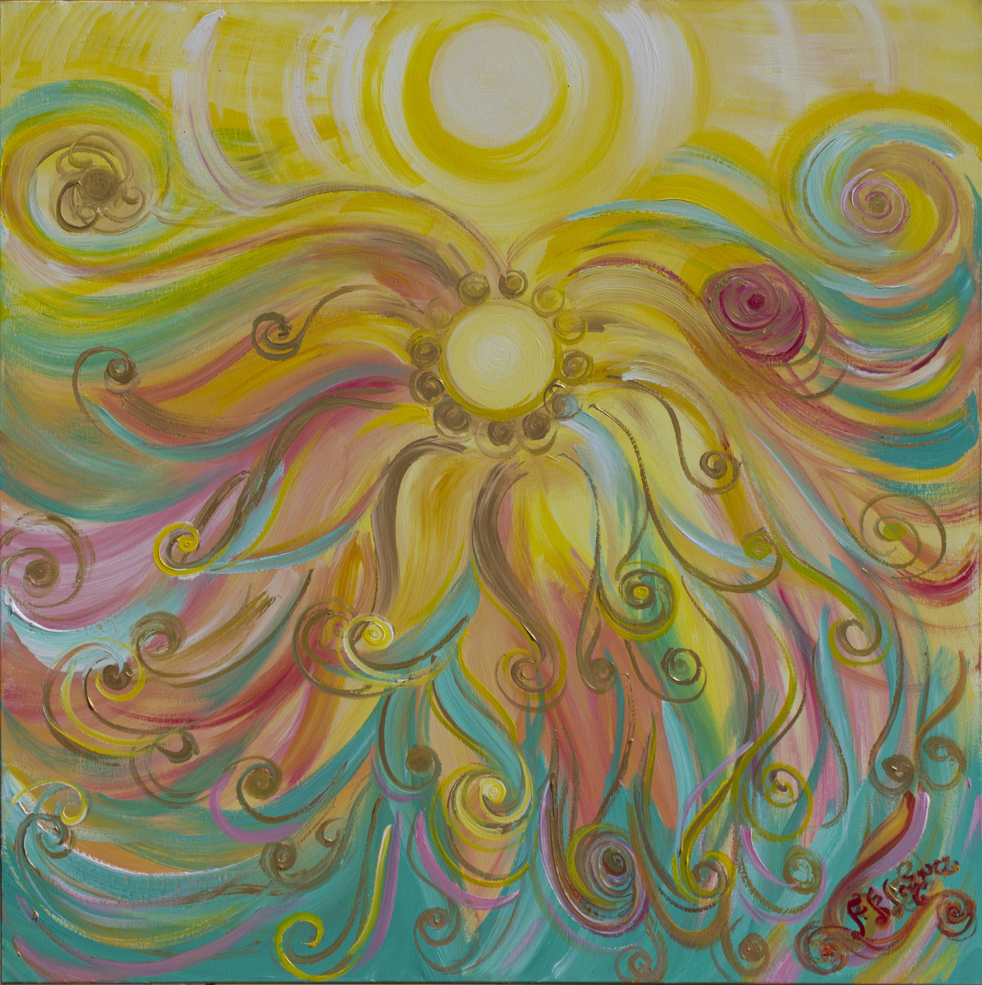 Francisca Blázquez - Pintura energética