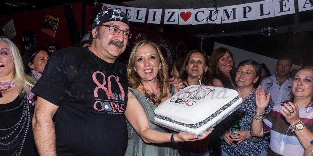 I Aniversario 80′ Copas Music Bar