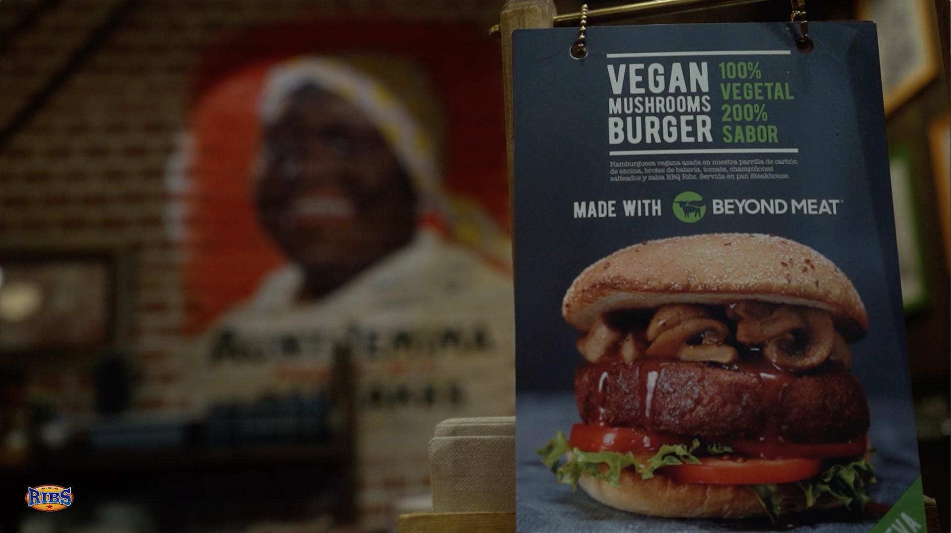 RIBS Planetocio - Hamburguesa vegana